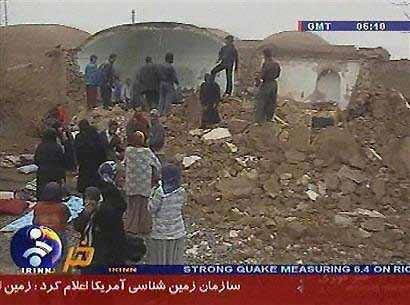 伊朗地震至少造成420人死亡约900人受伤