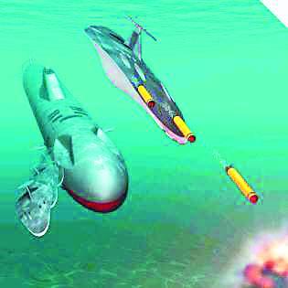 美无人潜航器规划曝光:欲造水下舰队称霸海洋