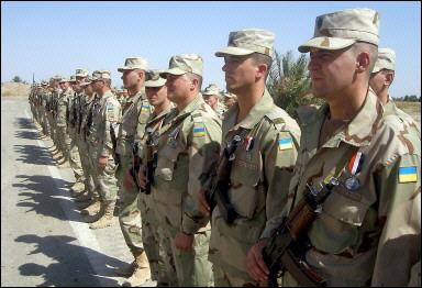 乌克兰开始从伊拉克撤军年底全部撤出