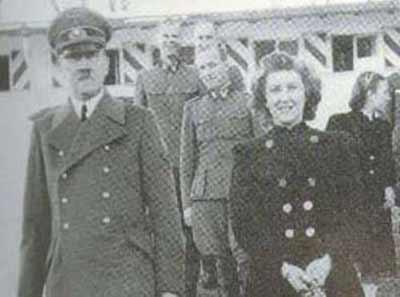 秘密档案披露希特勒与情妇的私生活(图)