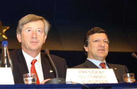 图文:欧盟首脑会议闭幕(2)