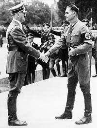 二战德国纳粹党副元首疑曾出走代表德与英媾和