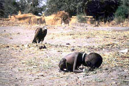 普利策奖得主摄影家凯文-卡特1994年自杀身亡