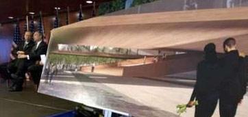 美国纽约新世贸大楼设计模型亮相(组图)