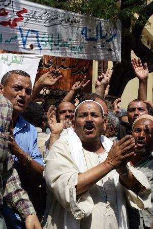 图文:埃及举行总统选举宪法修正案全民公决(6)
