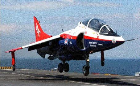 英国海军飞机自动着陆技术获得突破性进展(图)