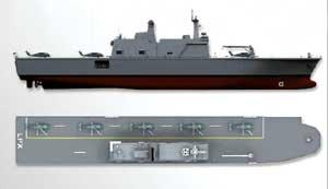 韩国轻型航母即将下水五年后将建一艘姊妹舰