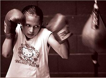 少女拳击手的故事组图