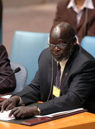 苏丹第一副总统加朗在直升机坠毁事件中身亡