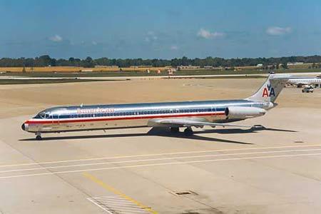 失事客机为麦道MD-82型飞机(图)