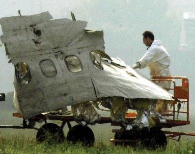 哥伦比亚客机坠毁委内瑞拉尚无生还者(组图)