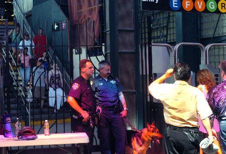纽约交管局宣布将斥资数亿请军火商监控地铁