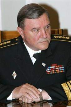 俄罗斯海军事故频发普京解除海军司令职务(图)