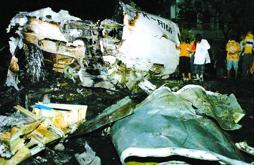 这次飞机失事是印尼历史上最惨重的空难之一.