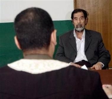律师否认萨达姆曾承认下令杀害库尔德人(图)