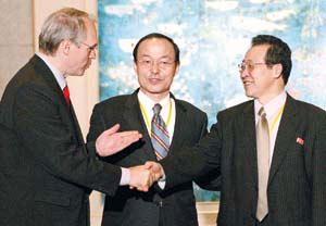 环球时报:朝鲜同意弃核内幕(图)