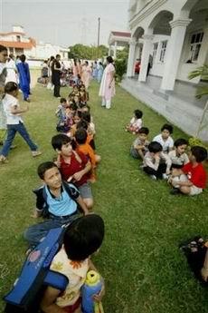 阿富汗东部遭遇强震2名儿童死亡(图)