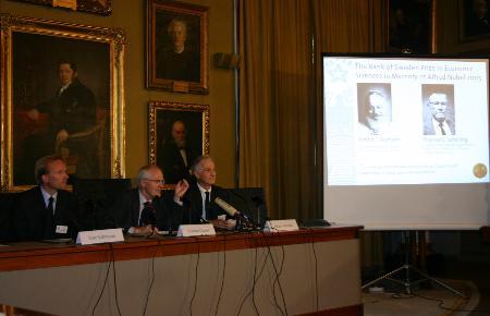 以色列和美国经济学家获2005年诺贝尔经济学奖