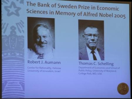 美国以色列经济学家获诺贝尔经济学奖
