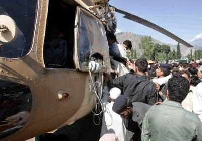 巴基斯坦称地震救援工作困难重重