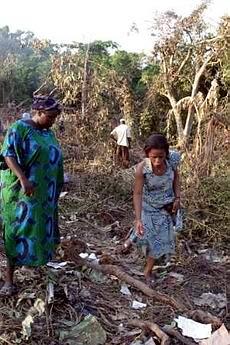 尼日利亚坠毁飞机载有3名官员及3名欧洲乘客