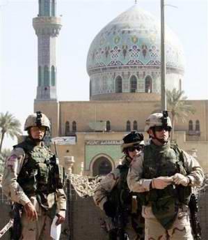 3名驻伊美军遭袭身亡美军死亡人数升至2004人