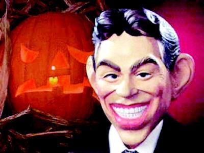 布莱尔头像成万圣节最吓人面具
