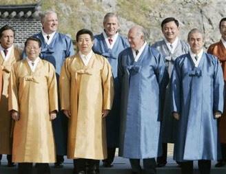 亚太经合组织第13次领导人非正式会议闭幕