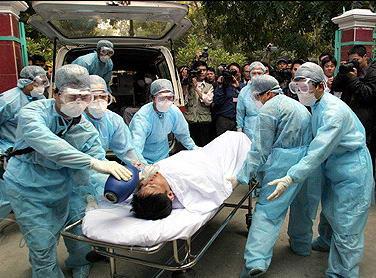 越南举行模拟演习防止禽流感大规模爆发(图)
