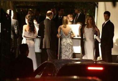 希腊船王外孙女举行豪华婚礼(组图)图片