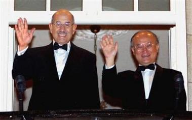 IAEA主席巴拉迪在挪威领取诺贝尔和平奖