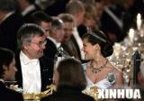 诺贝尔奖颁奖仪式在瑞典斯德哥尔摩举行(组图)