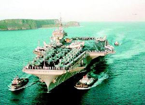 日美明年举行夺岛军演意在威慑中国