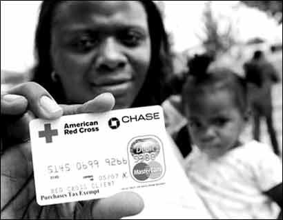 美国红十字会雇工骗取20万美元飓风灾民救济金