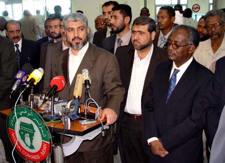 哈马斯宣布巴勒斯坦将组建民族联合政府(图)