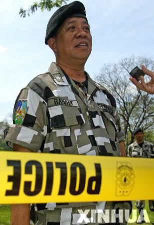 菲律宾总统官邸附近传出剧烈爆炸声(组图)