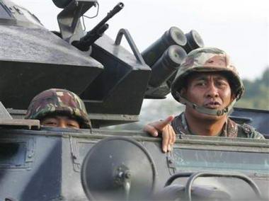 菲律宾军方再次挫败一起政变阴谋(组图)