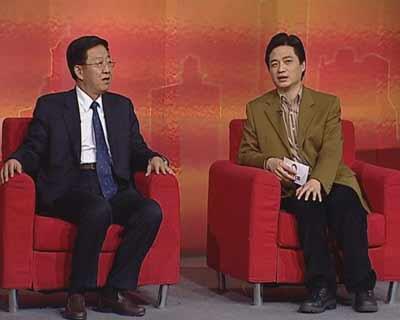 小崔会客:云南省委书记白恩培谈发展(图)