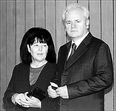 米洛舍维奇夫妇是伴侣也是事业搭档(图)
