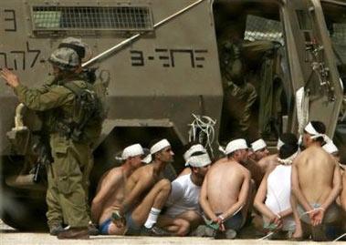 巴勒斯坦武装头目向以军投降劫狱事件结束(图)