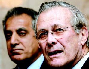 分析:拉姆斯菲尔德与赖斯为何突访伊拉克