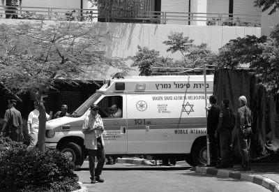 以色列前总理沙龙转院(图)