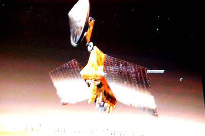 911世贸大楼碎片被改装成火星探测器防护板