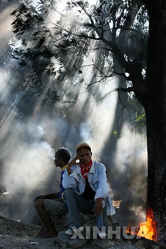 东帝汶部分地区局势继续动荡[组图]