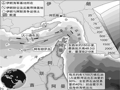 伊朗威胁将切断海湾石油生命线
