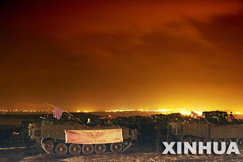 组图:以军开始对加沙发动军事袭击行动