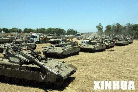 以色列开始对加沙发动军事袭击(组图)