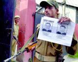 印度警方画出6名孟买爆炸案疑犯头像
