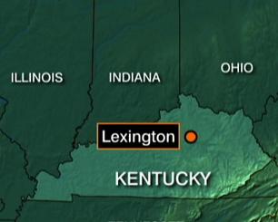 图文:美国CRJ-100客机坠机地点示意图