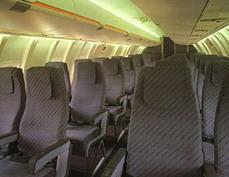 资料图片:CRJ-100型客机内部